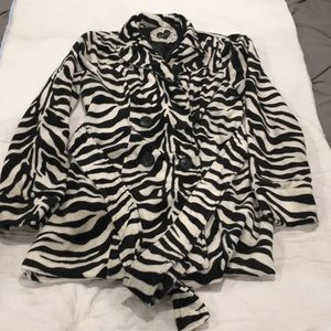Zebra Winter Coat
